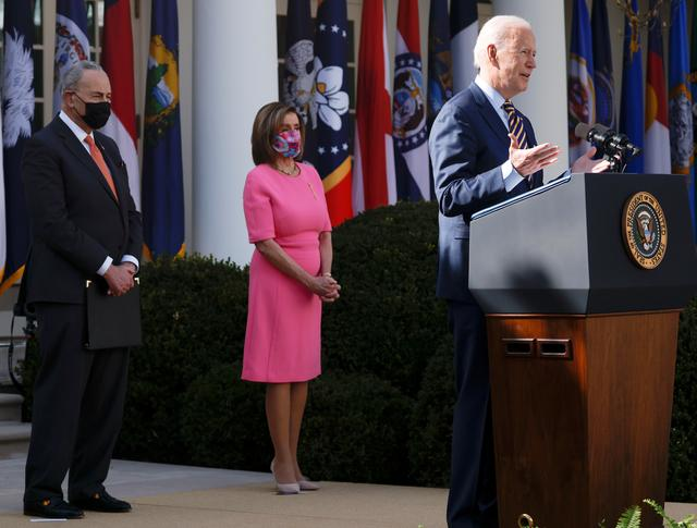 Biden: All U.S. adults to be eligible for vaccines by May, some normalcy coming bysummer